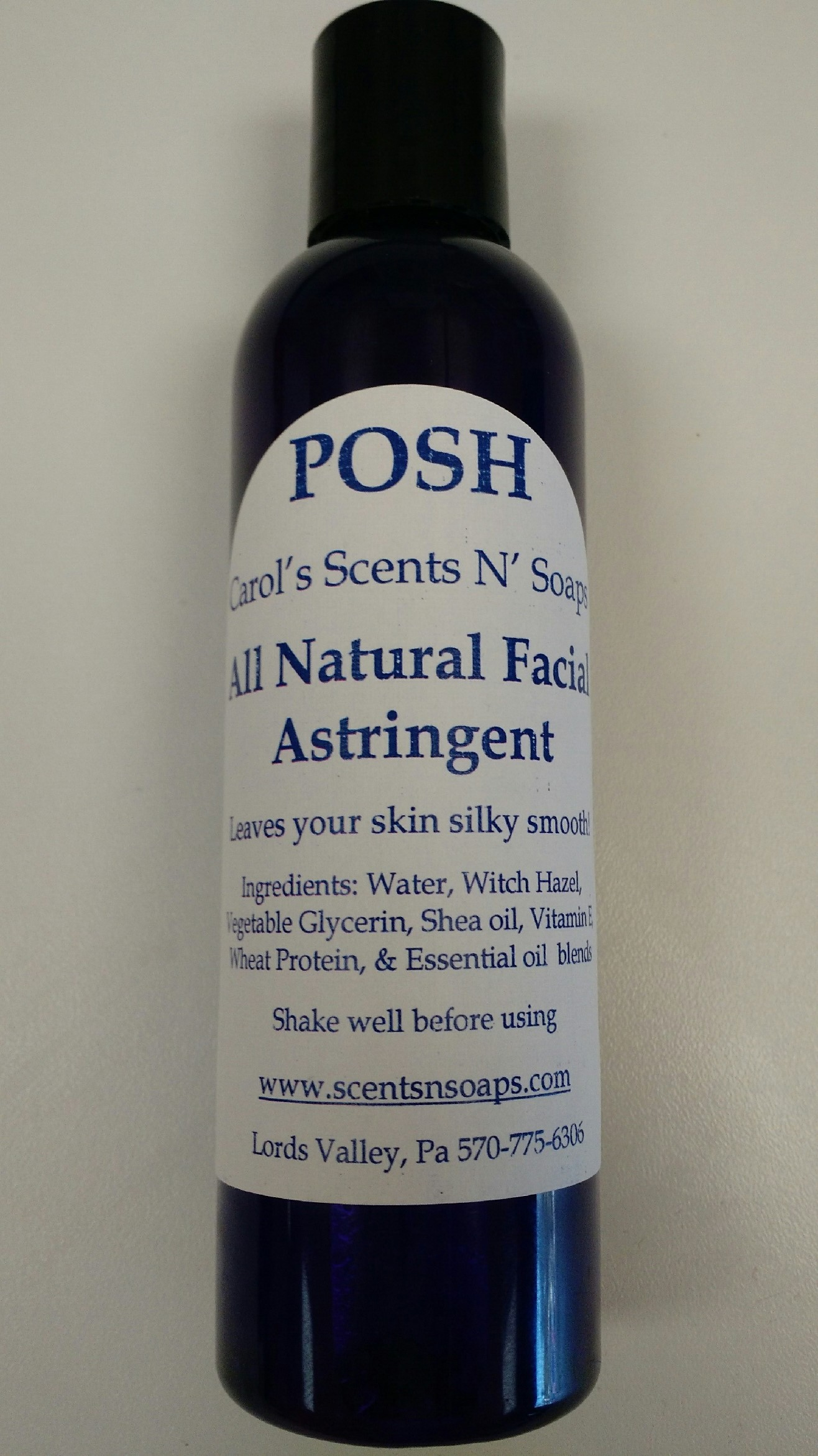 Natural Facial Astringent